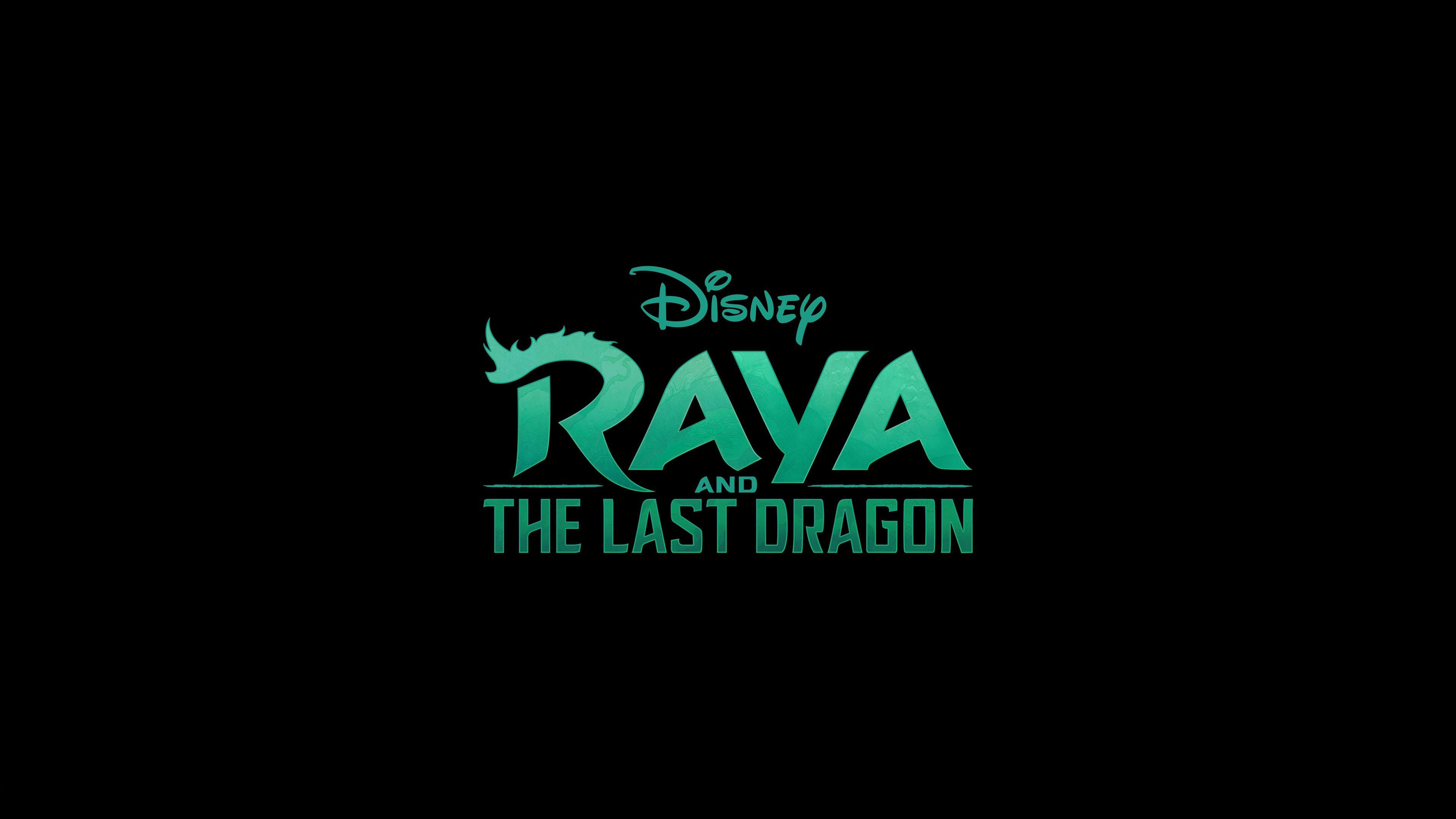 raya and the last dragon logo wallpaper 73768