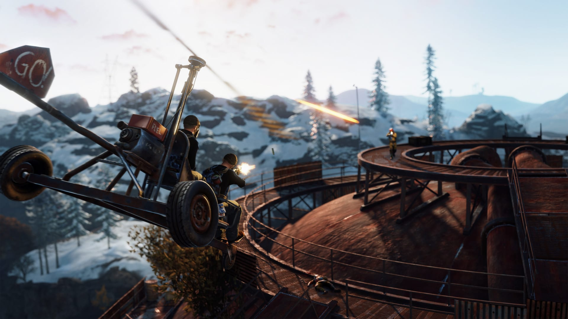 rust video game screenshot wallpaper 74563