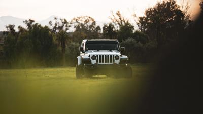 White Jeep Wrangler Widescreen Wallpaper 74077