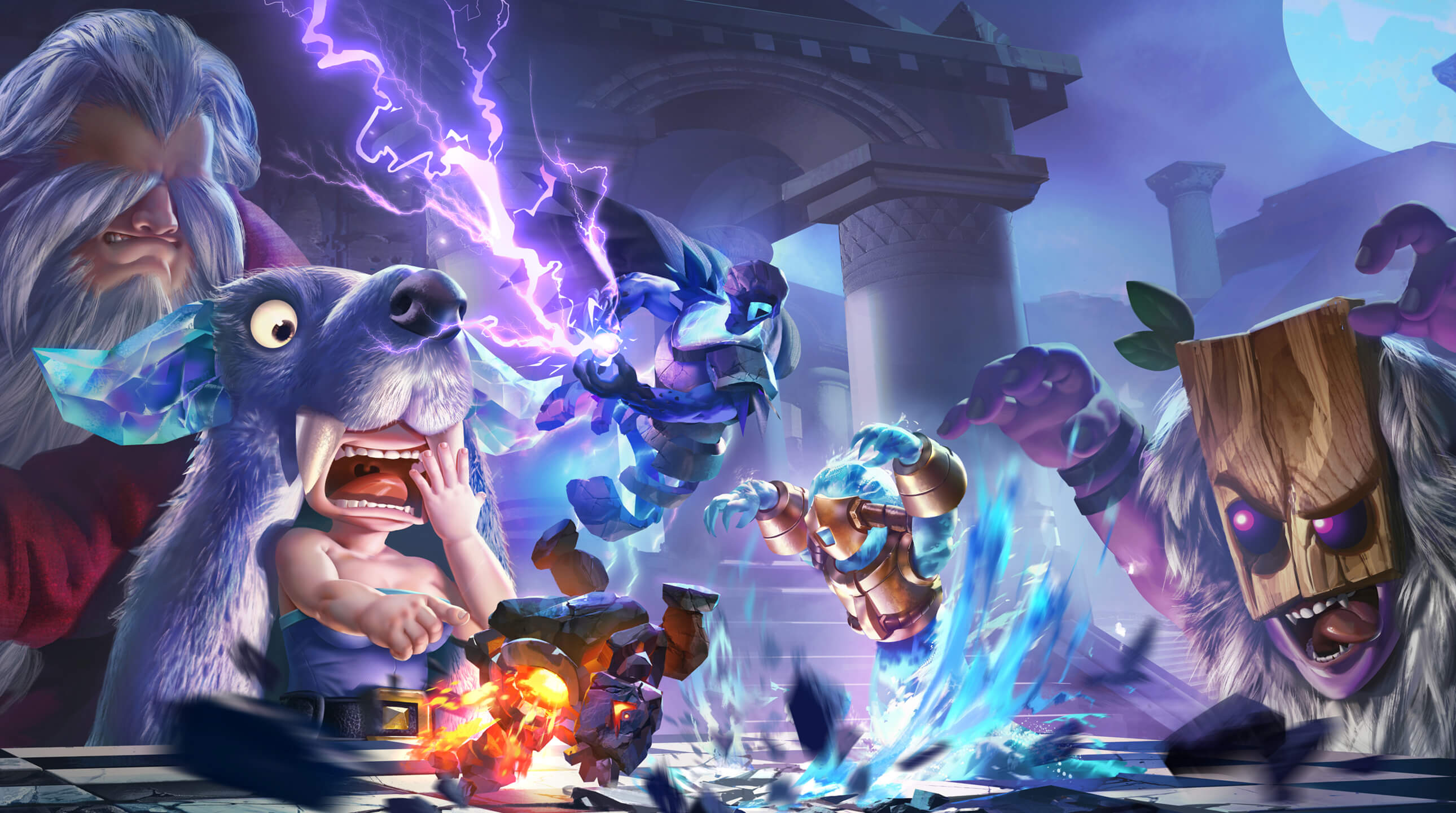 auto chess game background wallpaper 74025
