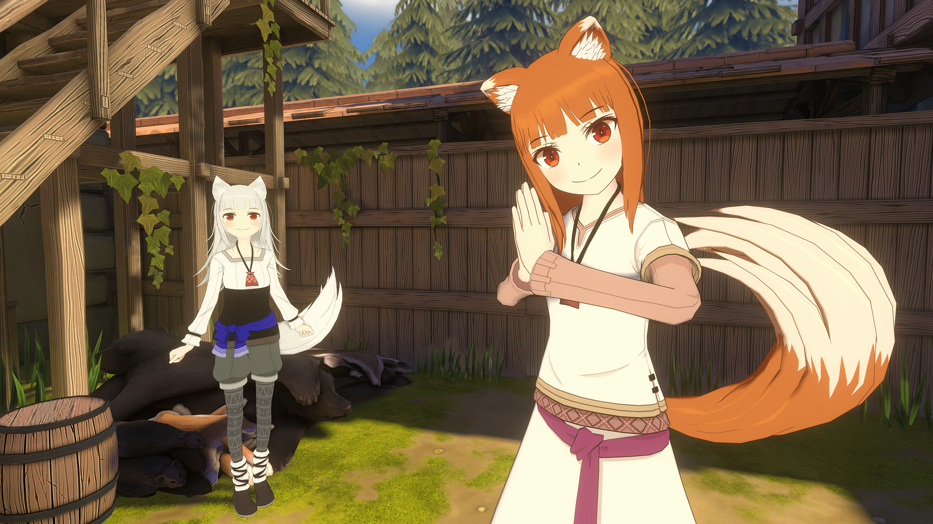 spice and wolf vr 2 wallpaper 73560