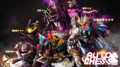 Auto Chess Game Widescreen Wallpaper 74027