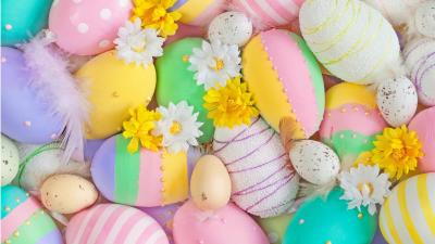 Easter Eggs HD Wallpaper 73934