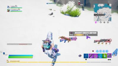 Fortnite Dragons Breath Wallpaper 73285