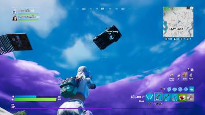Fortnite Flying Car Wallpaper 73317