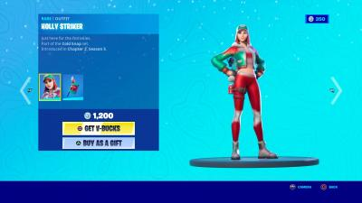 Fortnite Holly Striker Wallpaper 73302