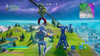Fortnite Zip line Wallpaper 73295