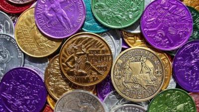 Mardi Gras Coins Wallpaper 73928
