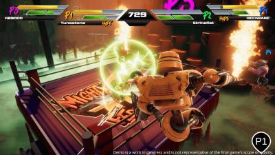 Mighty Fight Federation Screenshot Wallpaper 73786