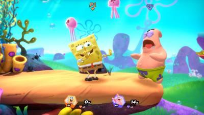Nickelodeon All Star Brawl Spongebob Wallpaper 75907