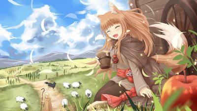 Spice and Wolf VR 2 HD Wallpaper 73557