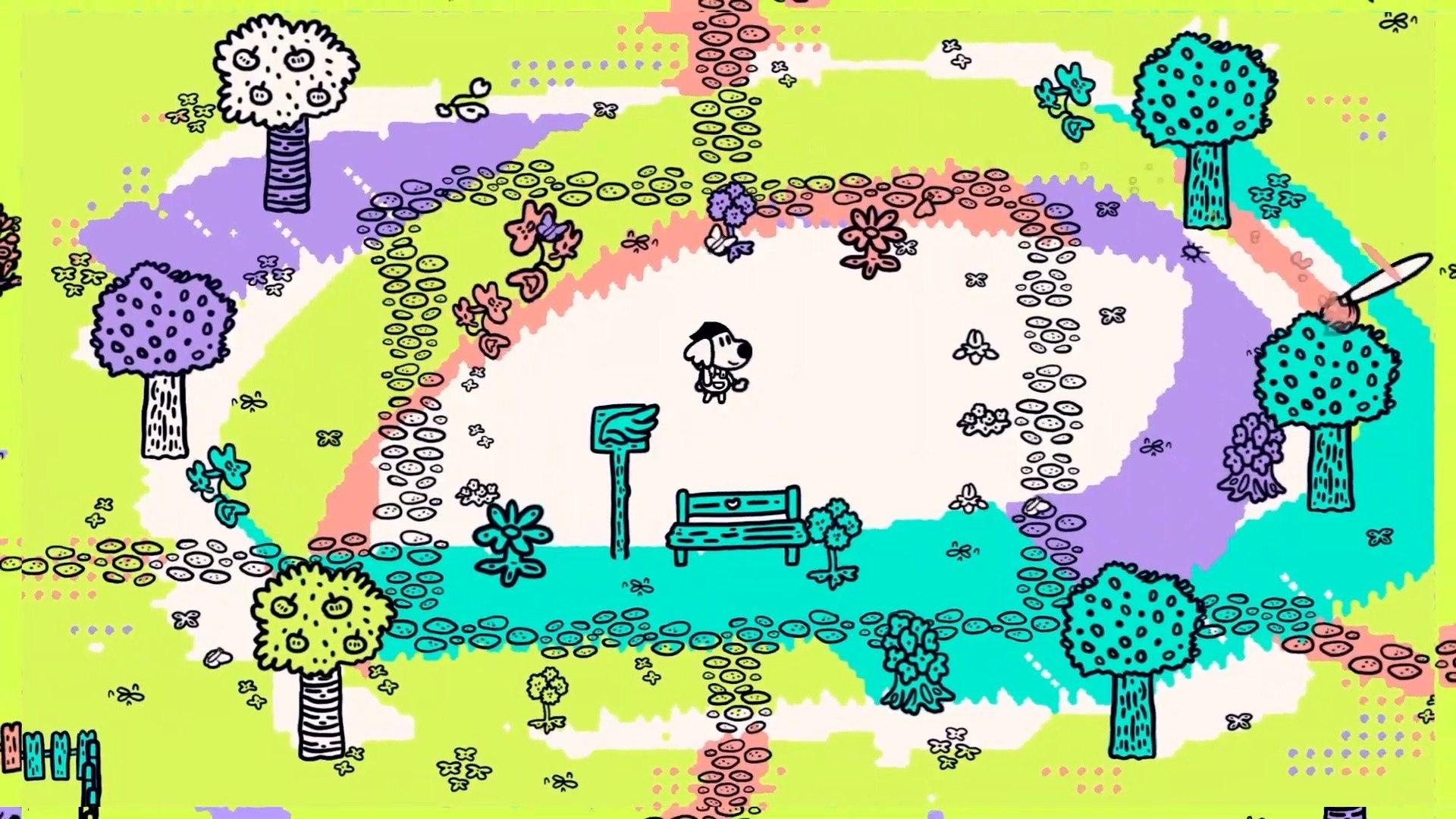 chicory a colorful tale desktop wallpaper 74584