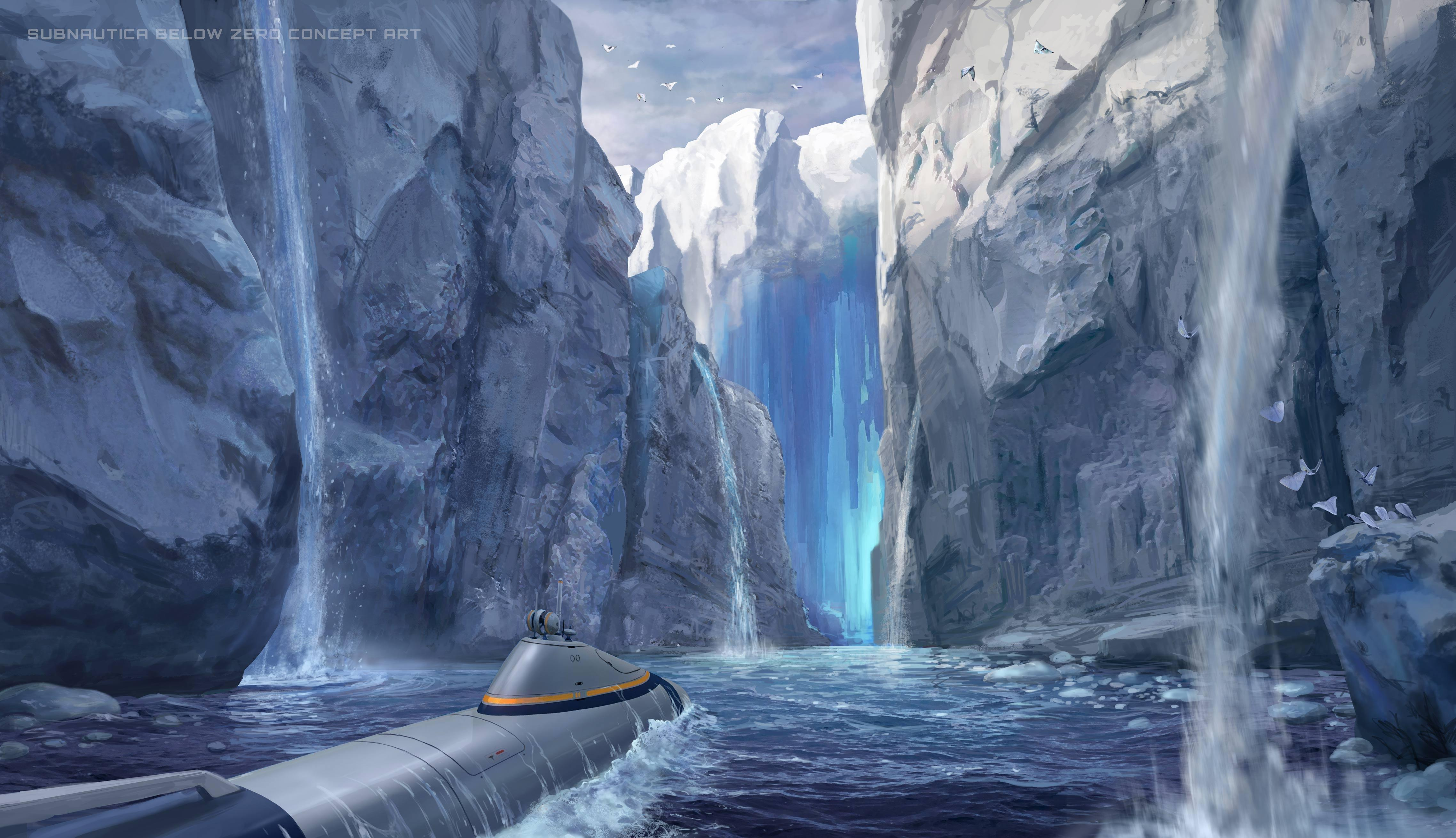 subnautica below zero background wallpaper 74365