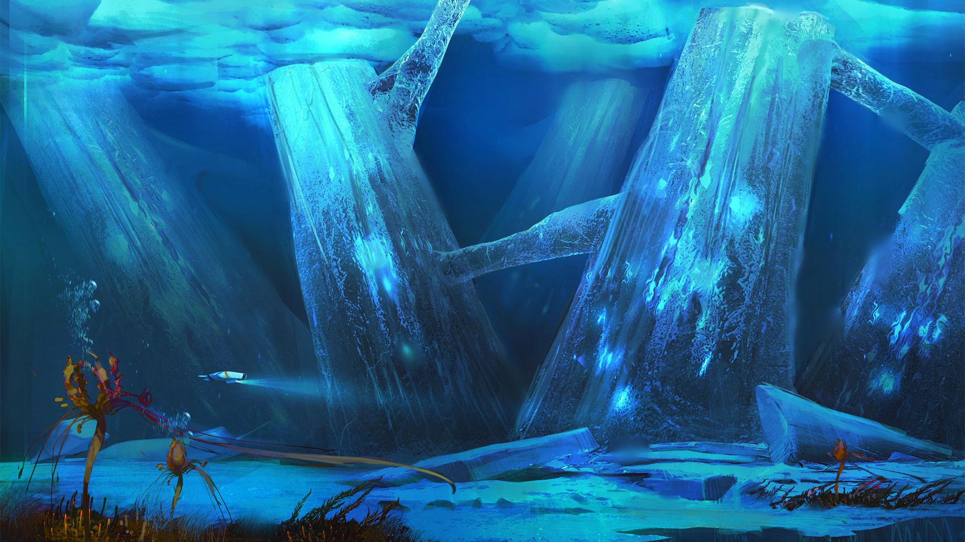 subnautica below zero game desktop wallpaper 74360