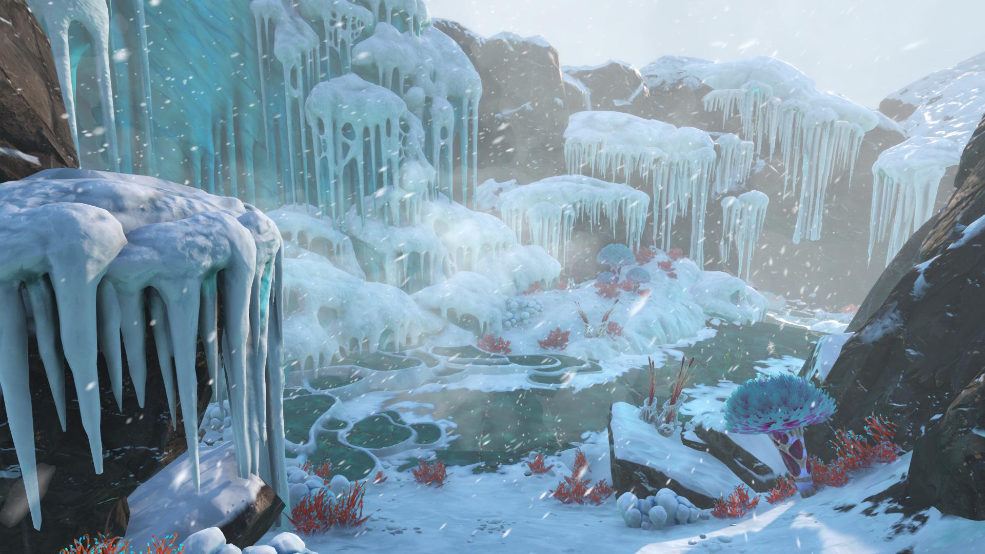 subnautica below zero game wallpaper 74359