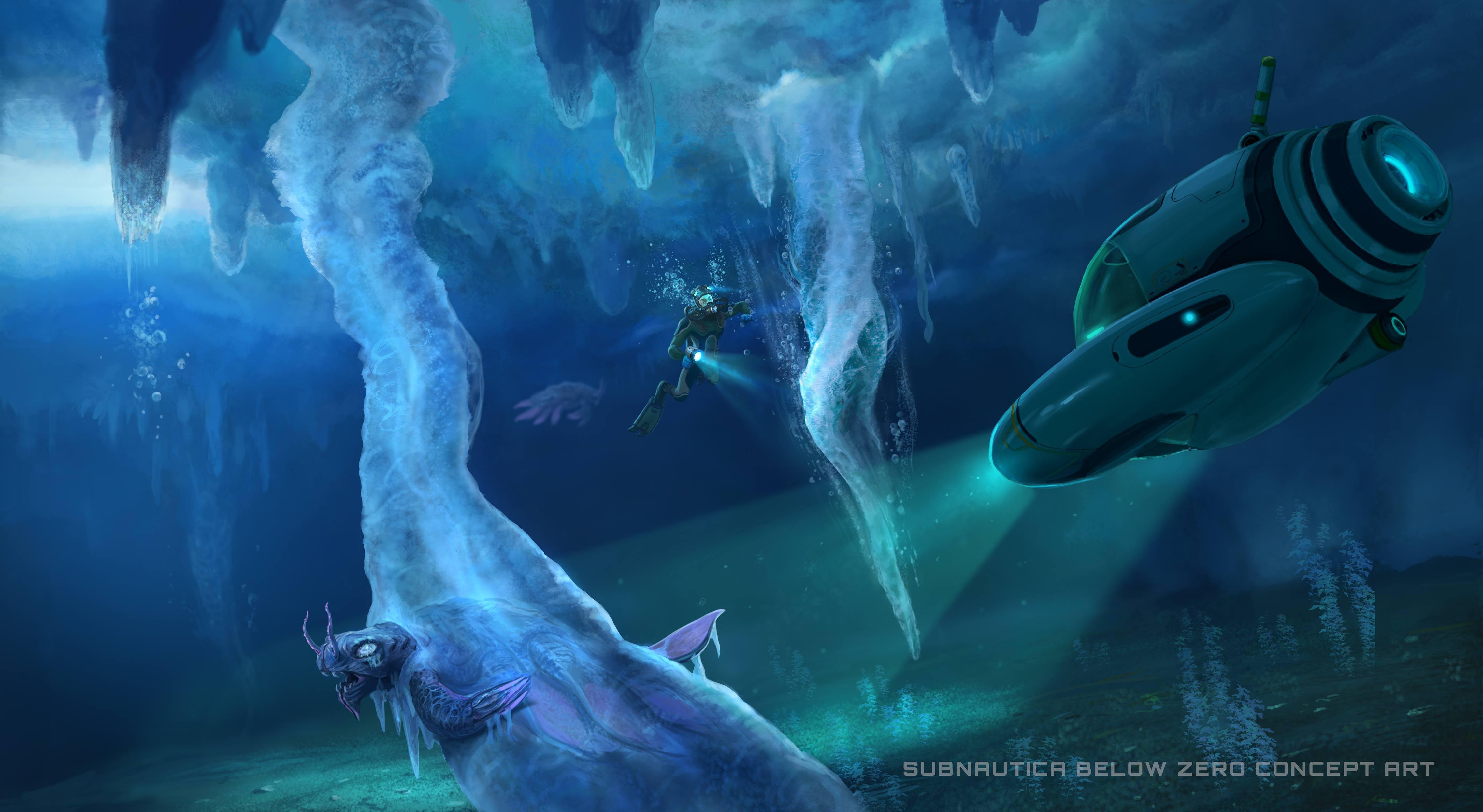 subnautica below zero video game wallpaper 74364