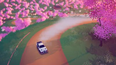Art of Rally Background Wallpaper 75817