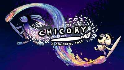 Chicory A Colorful Tale Logo Wallpaper 74574