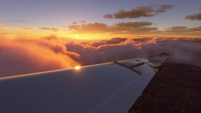 Microsoft Flight Simulator Wing Wallpaper 72757