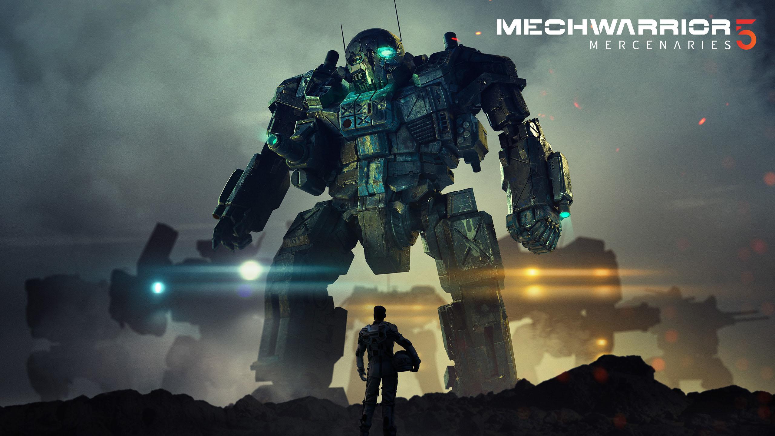 4k mechwarrior 5 mercenaries wallpaper 75235