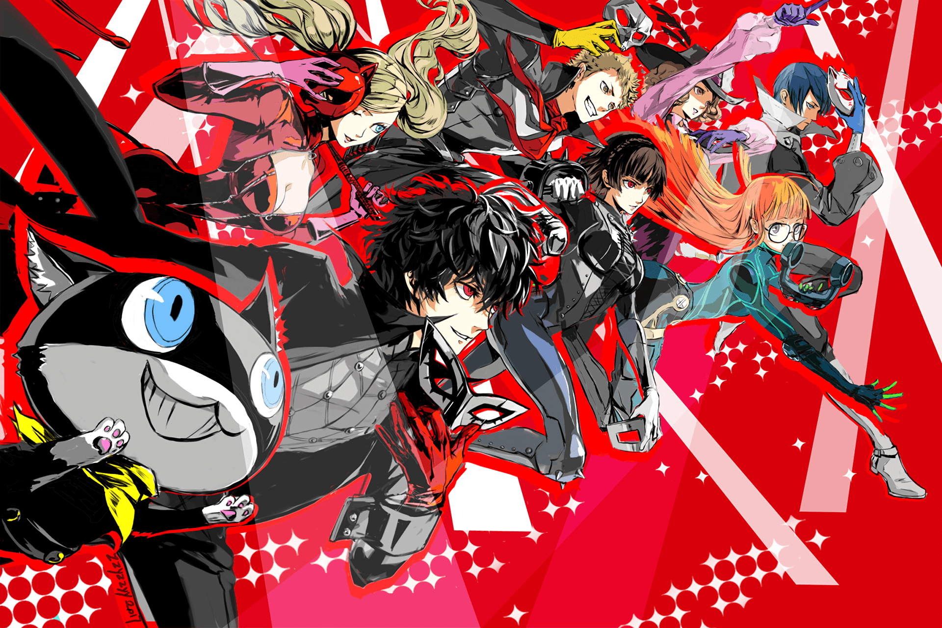 persona 5 strikers video game wallpaper 73108