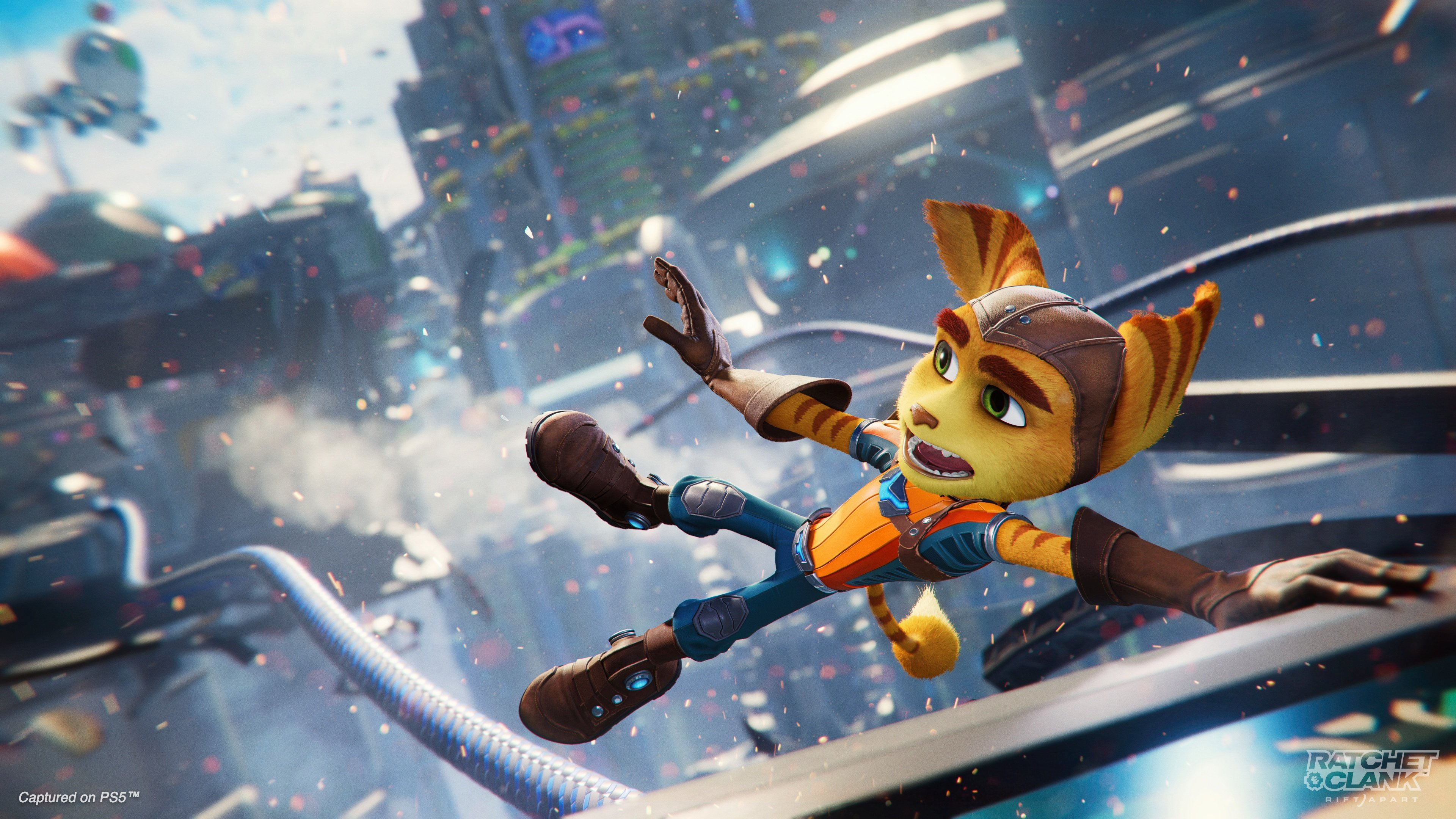 ratchet and clank rift apart wide wallpaper 74597