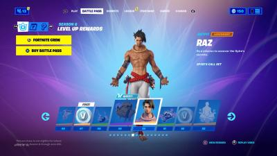 Fortnite Raz Wallpaper 73862