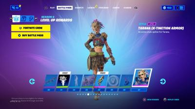 Fortnite Tarana Armor Wallpaper 73859