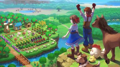 Harvest Moon One World Game Wallpaper 73100