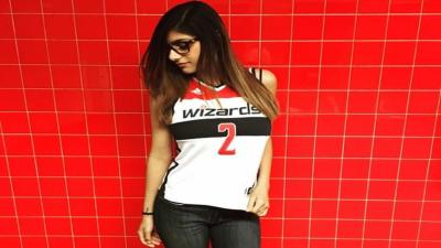 Mia Khalifa Hot Wizards Jersey HD Wallpaper 62096