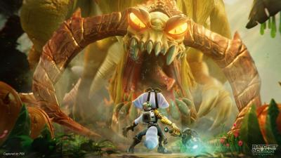 Ratchet and Clank Rift Apart Video Game Wallpaper 74599