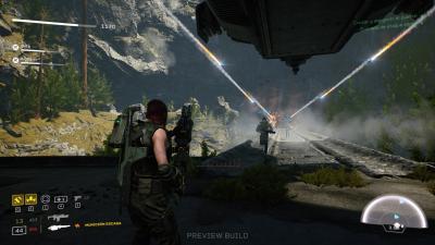 Aliens Fireteam Elite Desktop Wallpaper 75588