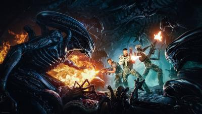 Aliens Fireteam Elite Wallpaper 75611