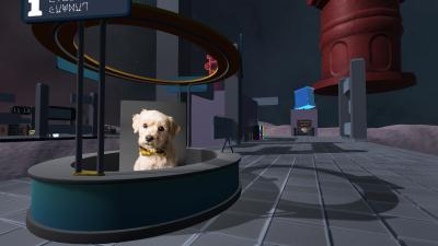 An Airport for Aliens Currently Run by Dogs Wallpaper 75245