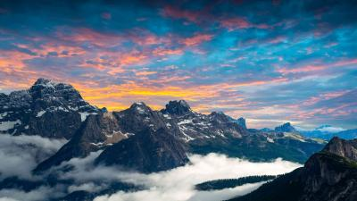 Beautiful 4K Mountains Wallpaper 73041