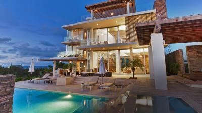 Luxury House Pool Wallpaper 74471